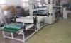 PVC caliente del suelo de la máquina WPC de Lamianting del pegamento del derretimiento de Pur que pega la máquina