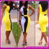 Neue Farben-abgleichendes Streifen-Verband-Kleid der Art-2014