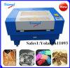 Precio de la máquina del laser Engraving&Cutting del papel del grabador del laser de China