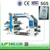 4 couleur High Speed Flexo Printing Machine pour Plastic Bag
