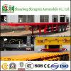 Behälter-Ladung-Transport-Flachbettförderwagen-halb Schlussteil