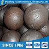 шарики стали 25mm брошенные минералом меля