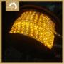 Cuerda de la batería de la Ronda Luz 2 cables de color amarillo
