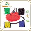 De fabriek verkoopt de Goedkope Zak van Drawstring van de Sport van de Gymnastiek van de Polyester van de Bevordering Nylon