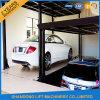 Liften van de Auto van de Garage van het Huis van Ce de Hydraulische voor het Kleine Parkeren van de Stapel van Garages/2 Auto's