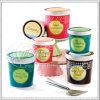 Escritura de la etiqueta del helado (KG-LA015)