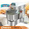 Двойное Speed 50kg Dough Spiral Mixer Machine
