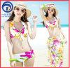 De digitale Reeks van de Bikini van Swimwear van de Druk Sexy 3PCS