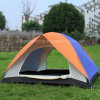 Popular doble piel 100% Poliéster Carpa Camping para 2 personas (JX-CT020-1)