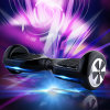 自己のバランスをとるスクーターの電気スクーター2の車輪の自転車