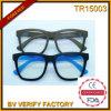 O frame do Tr com lente Polaroid Unsex os óculos de sol (TR15003)
