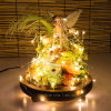 5m 15FT LED Copper String Light voor de Kerstboom Holida Wedding Party Decoration van Home Bedroom Garden