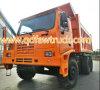 Autocarro con cassone ribaltabile rigido con capienza di caricamento di 90 tonnellate