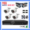 P2p Waterproof 720p Ahd Analog CCTV Camera System