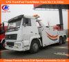 10 de ruedas de camiones Sinotruk entre China HOWO camión de auxilio 351-450HP HOWO camión de auxilio del carro que se eleva LHD Rhd HOWO Recuperación de camiones