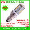 2.5W E12 bombilla LED (LT-E12P3)