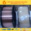 0.9mm Sg2/Er70s-6 이산화탄소 구리 황금 브리지 질 ISO9001의 입히는 MIG 용접 전선