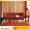 Mobiliário de sala de estar clássico / Sofá de sofá vermelho de madeira