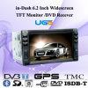 ユーゴのダッシュ6.2のインチワイドスクリーンTFTのモニター/DVD Recever