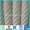 Doppelte Strang-umsponnenes Seil/sich hin- und herbewegendes Liegeplatz-Seil/Marineseil