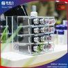 Support cosmétique acrylique d'étalage pour des rouges à lievres