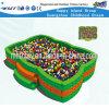 Equipamento plástico do campo de jogos da associação interna da esfera das crianças do jogo (HF-19905)