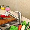 Fa013 tout le robinet de cuivre de bassin de clé de l'eau de mélange