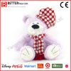 Peluche Toy Soft Teddy Bear dans Hat and Scarf for Kids