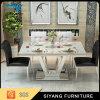 Tableau dinant de meubles de Foshan premier de marbre moderne de grand dos