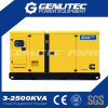 Generador de 400 kW de 500 kVA insonoro Cummins Power Set para Industrial