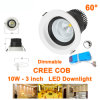 Dimmable 10W COB LED Ceiling Spotlights Interior Decorated Lighting