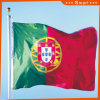 Su ordinazione impermeabilizzare e modello no. della bandiera nazionale del Portogallo della bandiera nazionale di Sunproof: NF-055