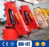 6 Kraan van de Boot van het Dek van de ton de Hydraulische Mariene voor Verkoop