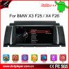 온라인으로 인조 인간 헥토리터 8827 8.8  4.4 GPS BMW X3 F25/X4 F26 차 DVD 항법 3G 인터넷 WiFi를 위해
