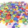 кнопка смолаы 4-Hole, подгонянный логос и цветы