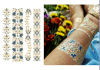 Tatuaje mezclado del arte de las etiquetas engomadas del tatuaje de las mujeres/de los hombres del estilo de la manera