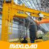 Première qualité de la Chine grue de potence fixée au sol de 3 tonnes avec le pilier et l'élévateur de Srtong