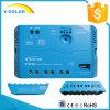 태양 Epever 20A 12V/24V USB 5V/1.2A 또는 LED Ls2024EU를 가진 관제사 운전사