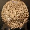 زخرفيّة بلاستيكيّة زهرة كرة مدلّاة ضوء