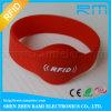 Wristband impermeable del silicio RFID con la viruta Tk4100/Em4200
