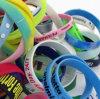 Bracelet fait sur commande de cadeau de promotion de silicone de fabrication professionnelle