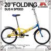 vélo 20 se pliant pliable bon marché (WL-2007S)