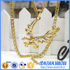 Gold Plating를 가진 주문 Bird Shape Pendant Necklace