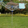 4-Arms giardino Umbrella Aluminium Rotary Clothes Airer