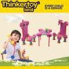 Brinquedo educacional plástico do edifício da venda quente para crianças