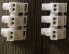 Ballast Terminal Blocks (duw-in type) met Three Polen