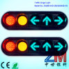 Clear piano LED Flashing Vehicle Traffic Light/Traffic Signal con Convex Lens
