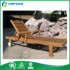 Beach (FY-023CB)를 위한 유럽 Design Outdoor Furniture Solid Wood Sunbeds