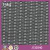 Ткань сетки Spandex конструкции Lita J130340 черная малая круговая