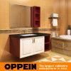 Vanidad clásica del cuarto de baño del vidrio Tempered de Oppein (OP15-129B)
